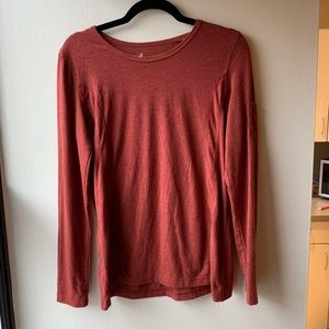 Natural Reflections Rust Long-Sleeved Tee